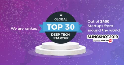 Perx named among Top 30 Deep Tech startups at Slingshot 2019